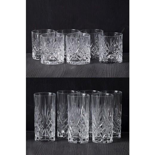 Lyngby Glas Melodia krystal glas, 6 stk-30