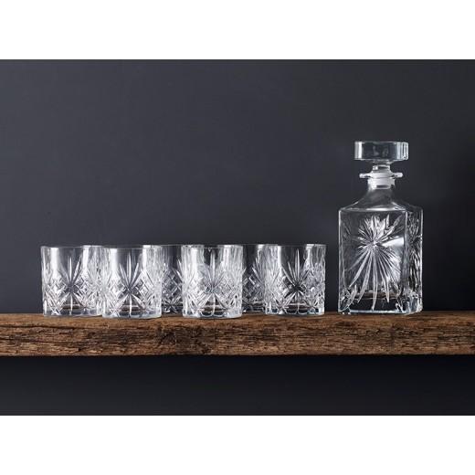 Lyngby Glas Melodia Whiskysæt, 7 dele-01
