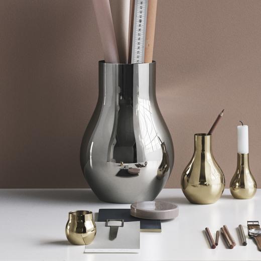 Georg Jensen Cafu vase, stål-31