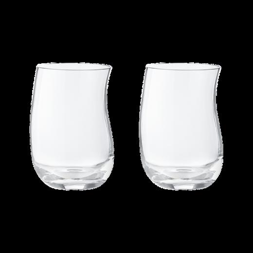 Georg Jensen Cobra Tumbler Glas, 2 stk.-00
