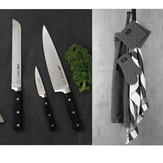 Lion Sabatier Pluton knivsæt og Pillivuyt tekstilsæt-36