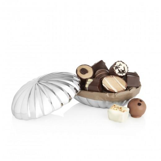 by PR Georg Jensen Bonbonniere fyldte chokolader, stor-00