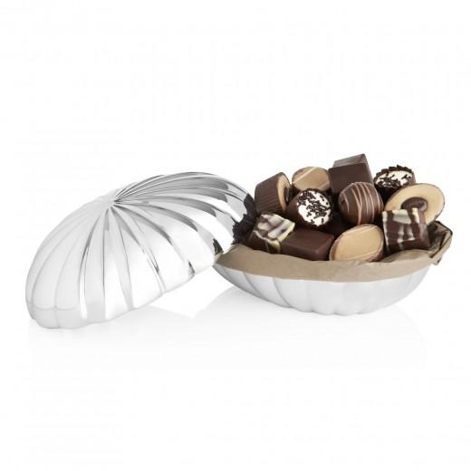 by PR Georg Jensen Bonbonniere fyldte chokolader, stor-30