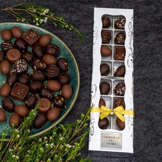 Func Chocolat du Nord, 16 stk. marcipanæg eller påskeæg-05