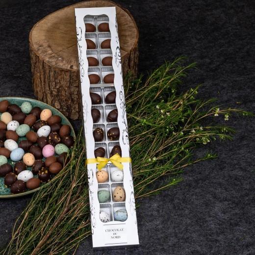 Func Chocolat du Nord, 24 stk. luksus chokoladeæg eller påskeblanding-36