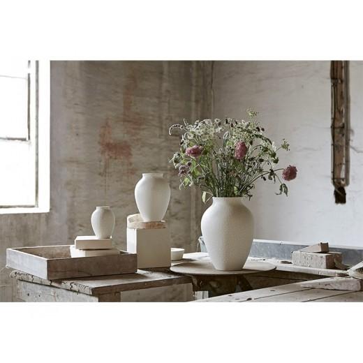 Stelton Knabstrup Vase 35 cm i hvid-36