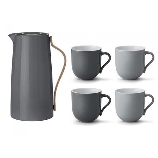 Stelton Gavepakke Emma Kaffe og 4 kopper-31