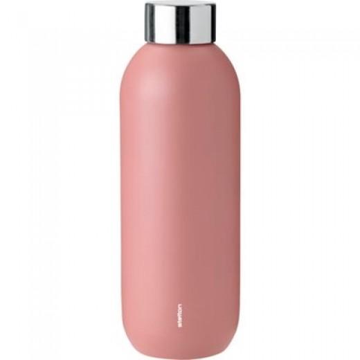 Stelton Keep Cool drikkeflaske i stål/rose-39