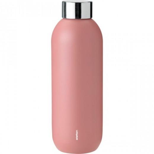 Stelton Keep Cool drikkeflaske i stål/rose-09