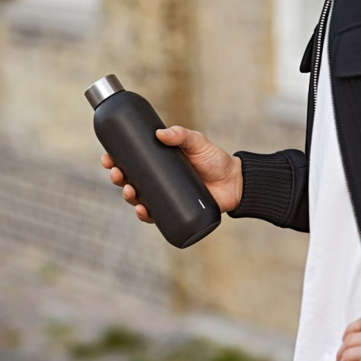 Stelton Keep Cool Termoflaske i stål, 0,6 l.-09