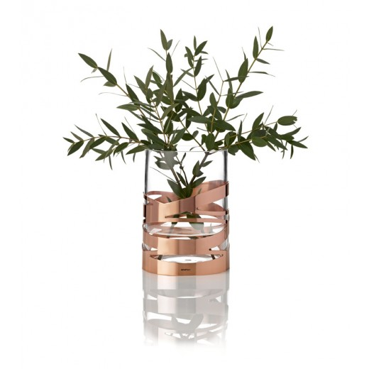Stelton Tangle Vase Kobber-30