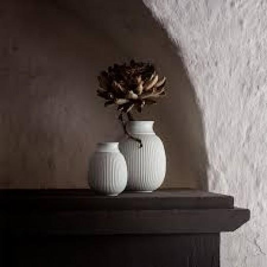 Lyngby porcelæn Curve vase, sæt-325