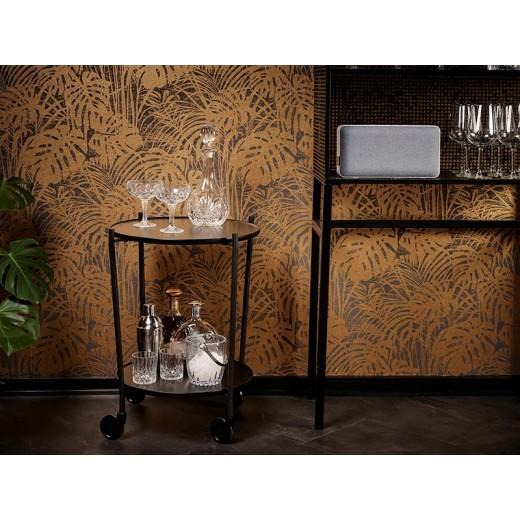 SACKit ROLLit Bar og Bakkebord med ekstra Acacia bakke-019