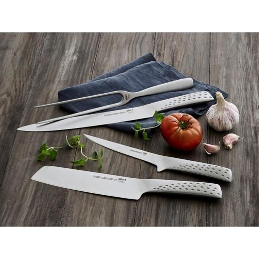 Weber Gavepakke med forskærersæt, stor grøntsagskniv samt udbenerkniv.-31