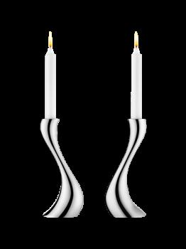 Georg Jensen Cobra lysestager, 2 stk. mellem-20
