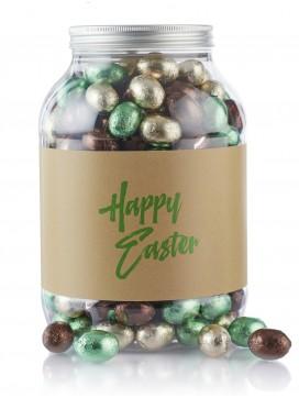 by PR 2 kg. Multicolur pralinéæg i cylinder Happy Easter-20