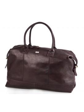 Bon Goût Rejsetaske i læder, Mørkebrun-20