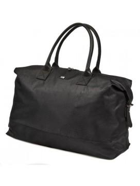 Bon Goût Rejsetaske i polyester med skind sort-20