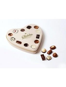 Sv. Michelsen Hjerteæske med 20 dessertchokolader-20