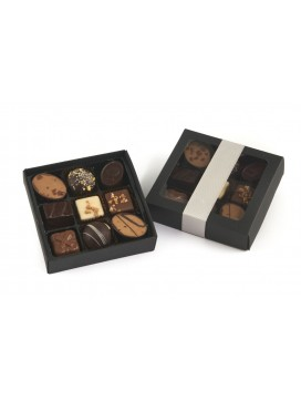 by PR luksus chokolade stykker, 9 stk.-20