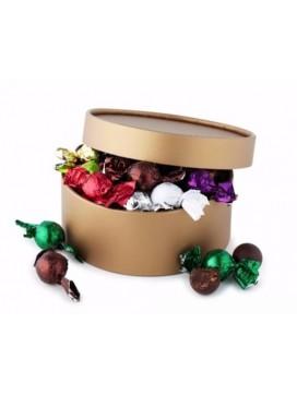 by PR fyldte chokoladekugler i hatteæske-20