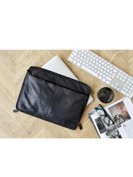 """Corium 13"""" Computer taske i sort skind-20"""