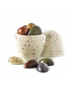 Xocolatl Porcelænsæg med påskeæg i gaveæske-20