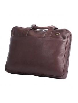 Bon Goût Computertaske i læder, brun-20