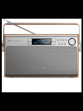 Philips bærbar DAB+ radio-20