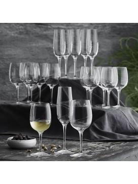 Gourmetgaven Luigi Bormioli Aero æske med 18 vinglas-20