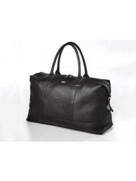 Bon Goût Rejsetaske i læder, sort-20