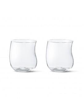 Georg Jensen Cobra Tumbler Glas, 2 stk.-20