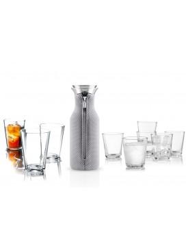 Eva Solo Køleskabskaraffel, 4 x 28 cl glas og 6 x 25 cl glas-20