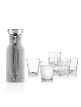 Eva Solo Køleskabskaraffel og 6 glas-20