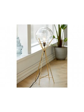 A Simple Mess Knold Lampe i messing-20