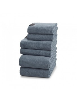 Georg Jensen Damask Håndklædepakke i Dusty Blue gave 6-20