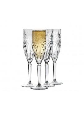 Lyngby Glas Symfonia Champagne glas, 4 stk.-20