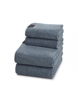 Georg Jensen Damask Gave 2 Håndklædepakke i Dusty Blue-20