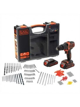 Black and Decker 18V Lithium-ion Slagboremaskine sæt 160 dele-20