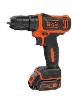 Black and Decker Lithium-ion smart tech boremaskine med lader og kuffert-20