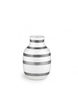 Kähler Omaggio Vase 12,5 cm Sølv 2 stk.-20