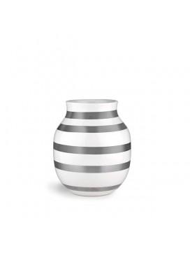 Kähler Omaggio Vase 20 cm - Sølv