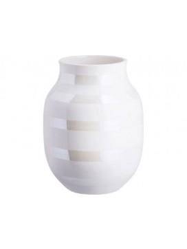 Kähler Omaggio Vase 20 cm Perlemor-20