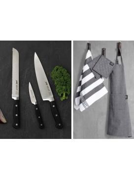 Lion Sabatier Pluton knivsæt og Pillivuyt tekstilsæt-20