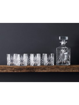 Lyngby Glas Melodia Whiskysæt, 7 dele-20