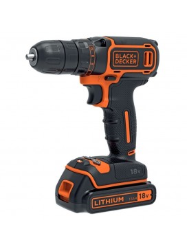 Black and Decker 18V Boremaskine + 200mA oplader + 1 batteri-20