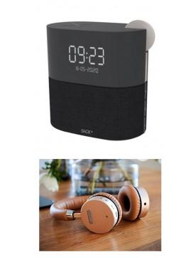 WAKEit Multifunktional DAB+/Clockradio og WOOFit Headphones-20