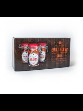 Chili Klaus - Grill/BBQ gaveæske