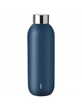 Stelton Keep Cool drikkeflaske i stål/dusty blue-20