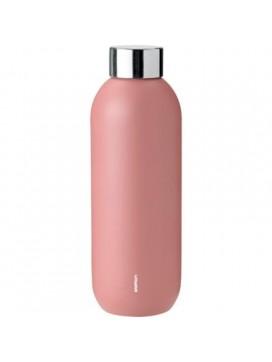 Stelton Keep Cool drikkeflaske i stål/rose-20